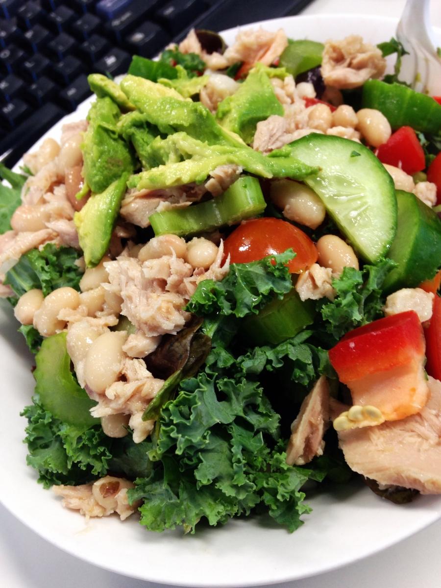 Tuna & Kale Salad